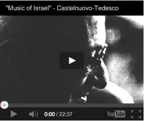 Italian Jewish Music