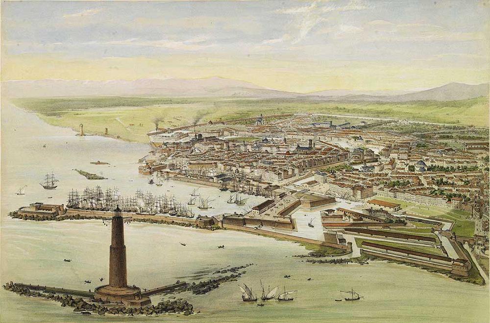 View_of_Livorno_1850ca