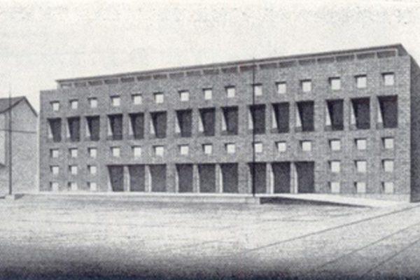 Beniaminio Bellati (Immagine tratta da, L'Architettura Italiana. Periodico mensile di architettura tecnica, 5 Maggio 1939, XVII anno, XXXIV)