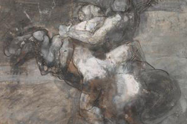 La Fuerza y la maña, Centauro al galope raptando a una mujer