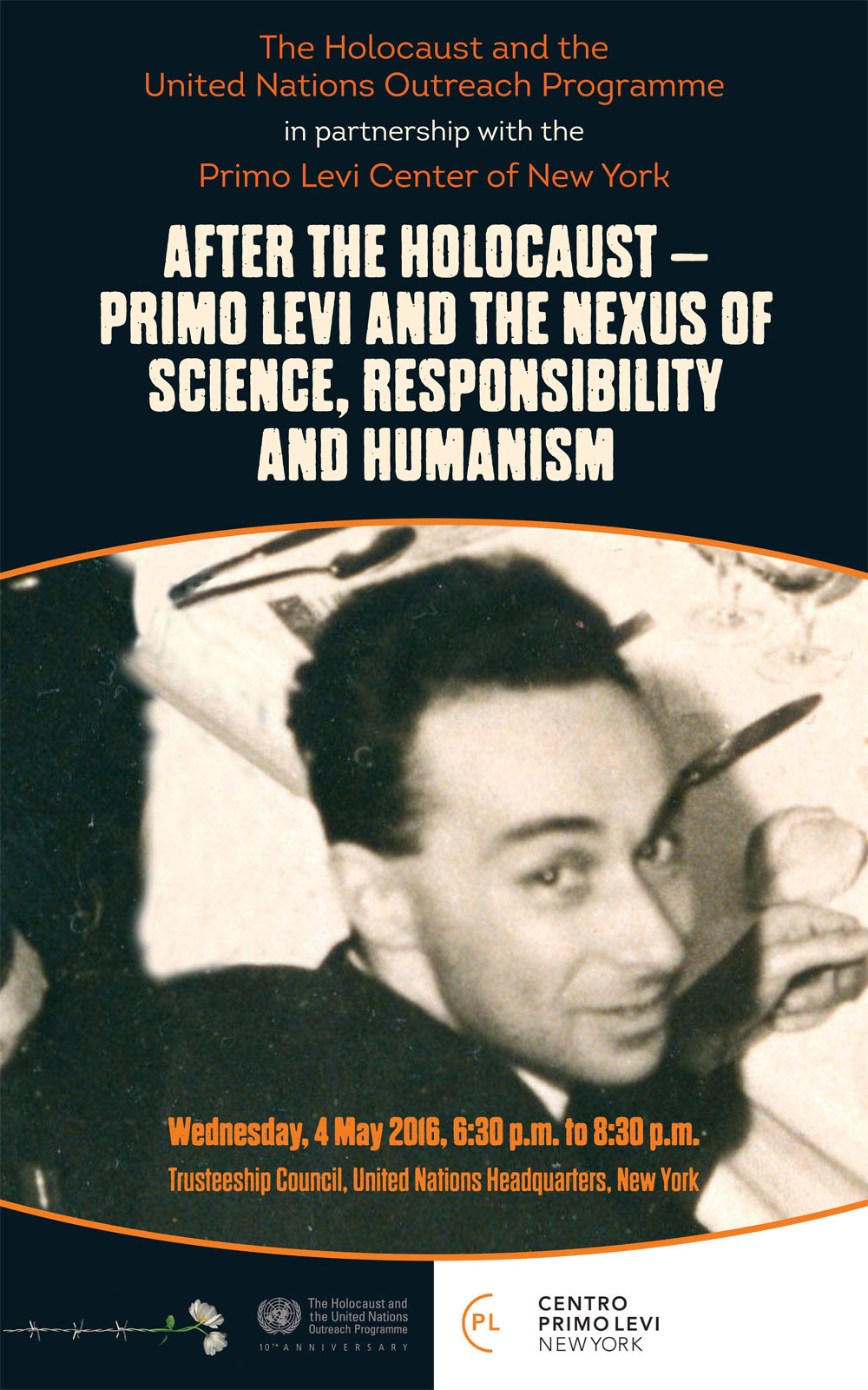 United Nations Celebrates The Contributions Of Primo Levi At Holocaust Event