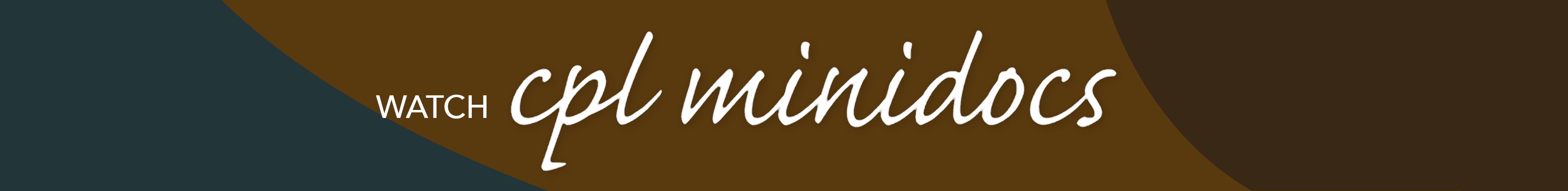 CPL Minidocs Banner 2.2